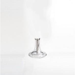 Lava Glass Base - White